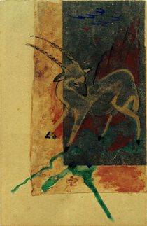 Franz Marc, Steinbock by AKG  Images