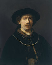 Rembrandt, Selbstbildnis, 1642/43 by AKG  Images