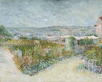 V. van Gogh, Gemüsegärten am Montmartre von AKG  Images