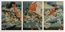 U.Kuniyoshi, Yojibeis Opfer by AKG  Images