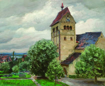 Reichenau, Marienmünster / Gemälde von Alexander Koester von AKG  Images