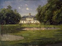Sorgenfri Palace / Painting by Peder Mørk Mønsted by AKG  Images