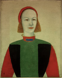 K.Malevich / Girl / Painting / 1932 by AKG  Images