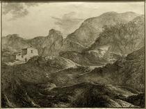 C.F. von Rumohr, Gebirgslandschaft by AKG  Images