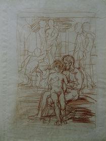 "Hans v. Marées, Kompositionsstudie zm ""Goldenen Zeitalter I"" von AKG  Images"