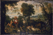 Frans Francken t. E. / Creation of Eve by AKG  Images
