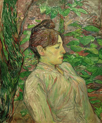 H. d. Toulouse-Lautrec, Sous la Verdure / 1890/91 by AKG  Images