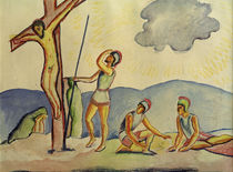 A.Macke / Crucifixion / 1911 by AKG  Images