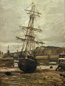Monet, Ship in dry-dock / 1868 by AKG  Images