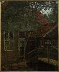 C.Monet, Kleine Brücke in Holland von AKG  Images