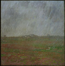 Monet / Rain on Belle-Ile / Painting by AKG  Images