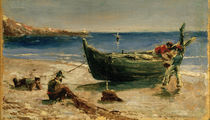 Fishing Boat / H. d. Toulouse-Lautrec / Painting 1880 by AKG  Images
