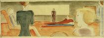 O.Schlemmer, Interieur mit sechs Figuren I von AKG  Images