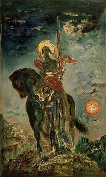 The Fates and the Angel of Death / G.Moreau / Painting c.1890 by AKG  Images