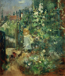 B. Morisot, Child among climbing roses by AKG  Images