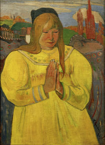 P.Gauguin, Young Christian woman / 1894 by AKG  Images