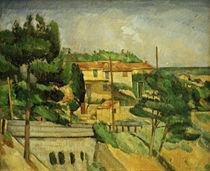 Cézanne / Viaduct near L'Estaque by AKG  Images