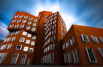 Medienhafen Düsseldorf - Moderne Klinkerarchitektur by Klaus Tetzner