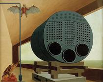 C.Grossberg, Dampfkessel mit Fledermaus von AKG  Images