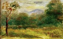 A.Renoir, Landschaft in Südfrankreich von AKG  Images