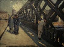 Caillebotte / Pont de l'Europe (Study) by AKG  Images