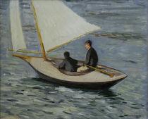 G.Caillebotte, Segelboot auf der Seine von AKG  Images