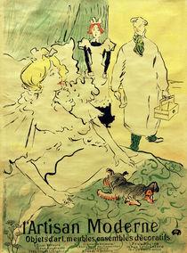 H. de Toulouse-Lautrec, L'Artisan Moderne von AKG  Images