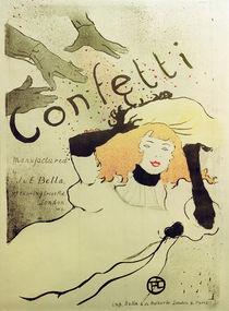 H.Toulouse-Lautrec, Confetti by AKG  Images