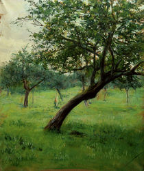 G.Caillebotte, Obstgarten by AKG  Images