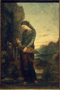 G.Moreau, Junge Thrakerin mit dem Haupt des Orpheus von AKG  Images