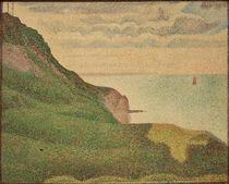 G.Seurat, Coastal Landscape / Painting by AKG  Images
