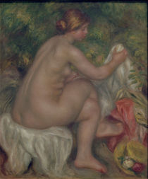 Renoir / The Bather /  c. 1903 by AKG  Images