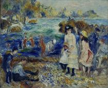 Renoir / Enfants au bord de la mer /1883 by AKG  Images