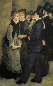 Renoir / La sortie du Conservatoire /1877 by AKG  Images
