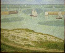 G.Seurat, Port-en-Bessin, Hafeneinfahrt von AKG  Images