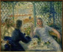 A.Renoir, Frühstück im Restaurant Fournaise (Das Frühstück der Ruderer) von AKG  Images