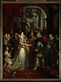 Rubens / Marriage of Marie de' Medici by AKG  Images