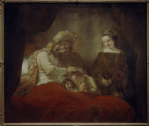 Rembrandt / Jacob's Blessing / 1656 by AKG  Images
