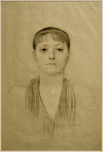 G.Klimt, Brustbild eines Mädchens by AKG  Images