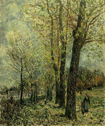 "A.Sisley, ""Landscape near Moret"" / painting by AKG  Images"