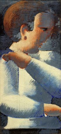 Oskar Schlemmer, Junge in Blauweiß by AKG  Images