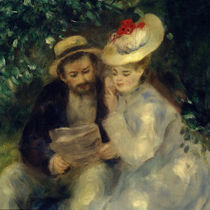 Confidences / A. Renoir / Painting, 1875 by AKG  Images