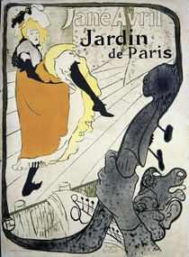 Jane Avril / Toulouse-Lautrec / Poster 1893 by AKG  Images