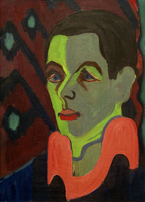 Ernst Ludwig Kirchner, Self-portrait by AKG  Images