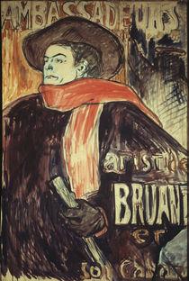Toulouse-Lautrec / Bruant aux Ambassad. by AKG  Images