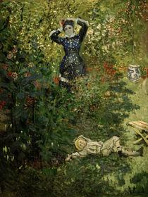 C.Monet, Camille und Jean im Garten von AKG  Images