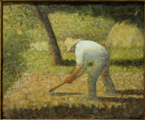 G.Seurat, Bauer mit Hacke by AKG  Images