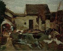 M.Liebermann, Bauernhof in Barbizon von AKG  Images