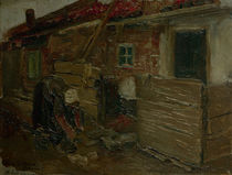 Liebermann / Dutch Farmhouse & Woman by AKG  Images