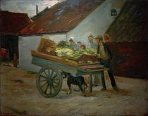 M.Liebermann, Gemüsekarren – Hundekarren von AKG  Images